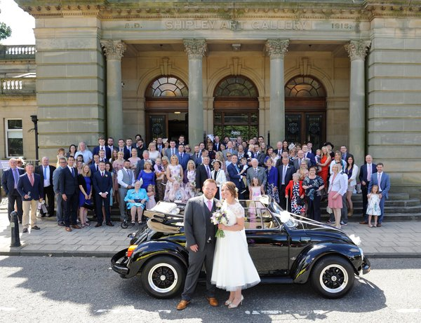 Shipley Art Gallery Wedding Ceremony