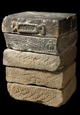 large rectangular stones used in piers (square pillars)