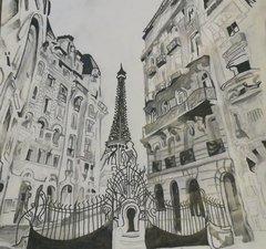 sketch of Barcelona