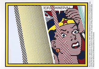 Reflections on Minerva, Roy Lichtenstein