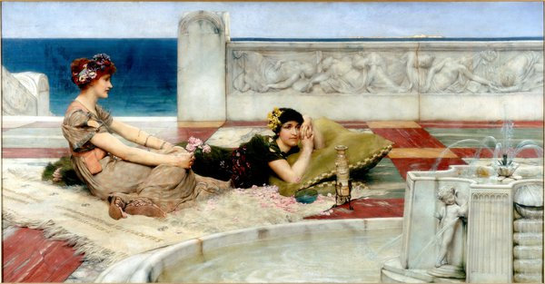 Love in Idleness by Lawrence Alma-Tadema