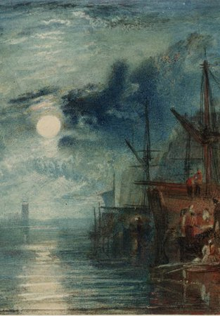 J M W Turner Shields, on the River Tyne