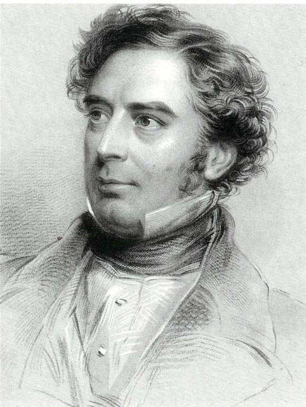 Engraving of Robert Stephenson