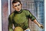 Football card from 1928-29 of SSFC Goalie Peter Shevlin