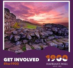 Hadrians Wall 1900