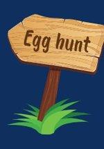 Inventive egg trail