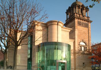 An image of the Laing Art Gallery taken from outside