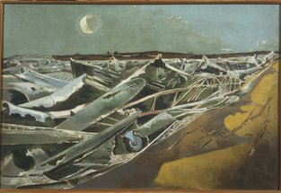 Totes Meer (Dead Sea), 1940-1 by Paul Nash © Tate, London 2015