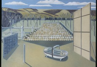 Landscape at Iden, 1929 by Paul Nash © Tate, London 2015