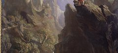 'The Bard' (1817) by John Martin