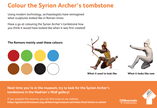 GNM Syrian Archer Colouring