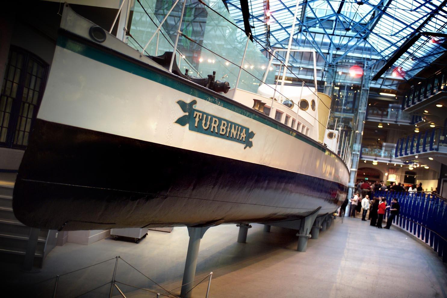 Enjoy a drinks reception and expert talk around the Tubinia Ship