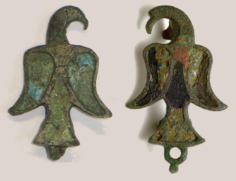 Roman - Eagle brooches