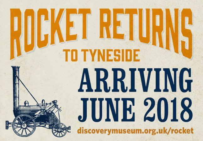 Rocket returns to Tyneside