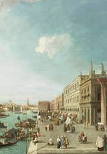 THE MOLO, VENICE, LOOKING WEST