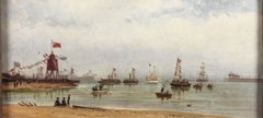 The opening of the Albert Edward Dock