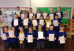 Pupils that have completed Arts Award through music