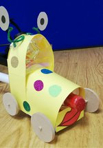 Family Challenge: Rocket Car Racers