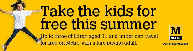 Take the kids for free this summer