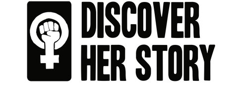 Discover Her Story logo large text