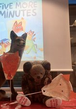 Fox Paper Plate at Home activity