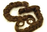 Braids of Catherine Cookson's hair