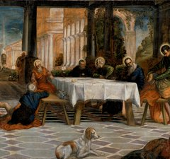 Tintoretto - Christ Washing the Disciples Feet