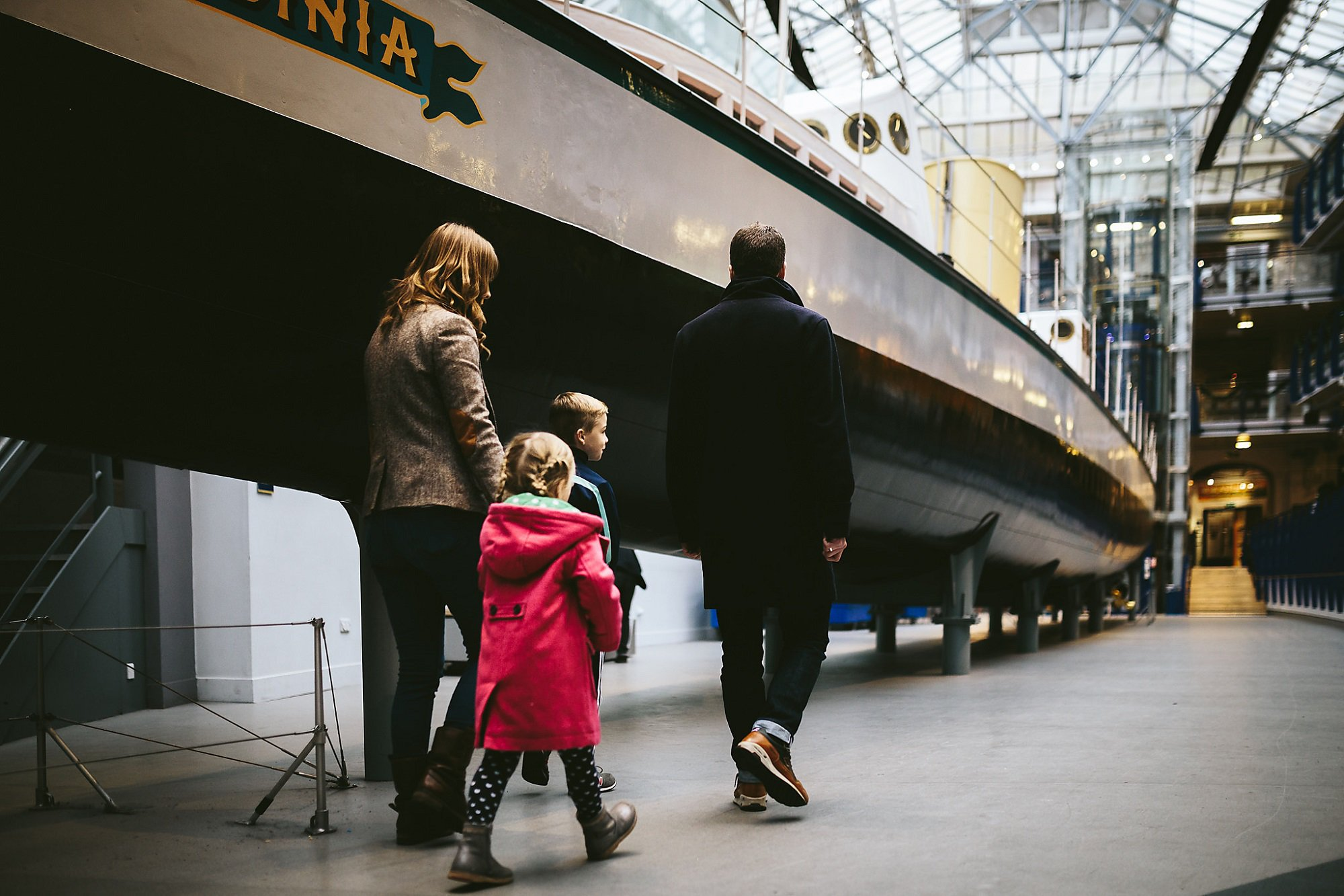 Turbinia at Discovery Museum