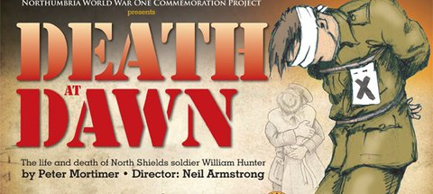 Death at Dawn promotional poster