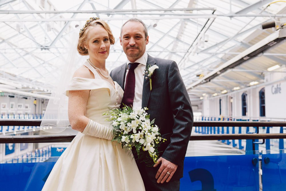 Discovery Museum wedding photograph by Barry Forshaw