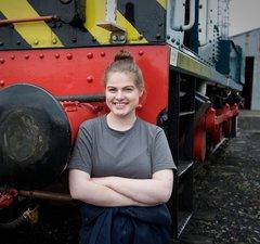 Katie NTSRA volunteer