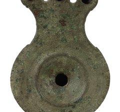 Roman Copper Alloy Oil Lamp