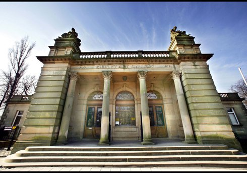 exterior view of Shipley Art Gallery