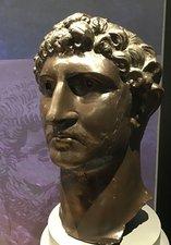 Replica head of the Emperor Hadrian