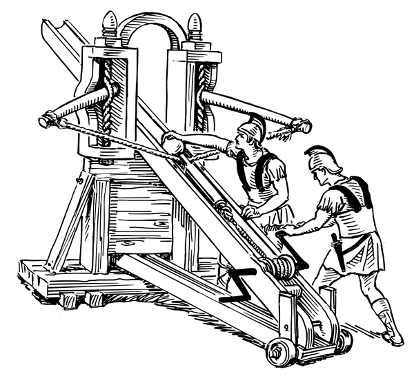 Ballista catapult