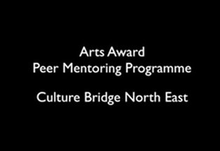 Arts Award Peer Mentor film