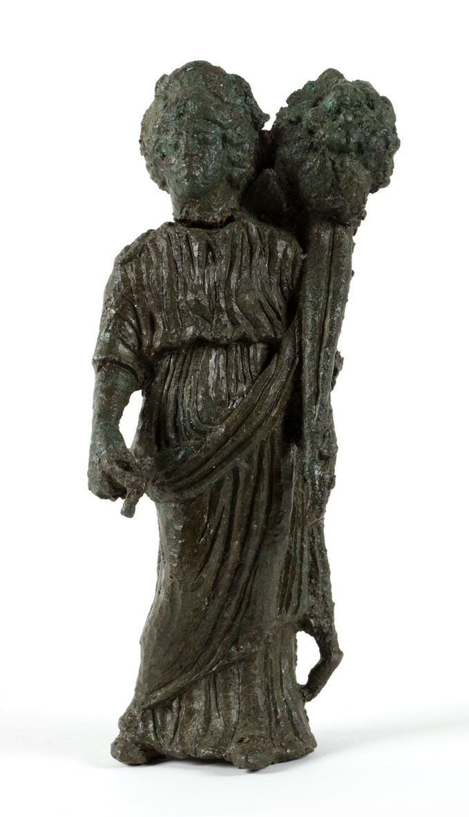Statuette of Fortuna found at Segedunum