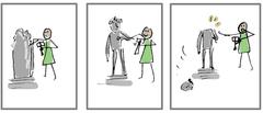 A comic strip image