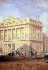 Design for the Royal Arcade by John Dobson