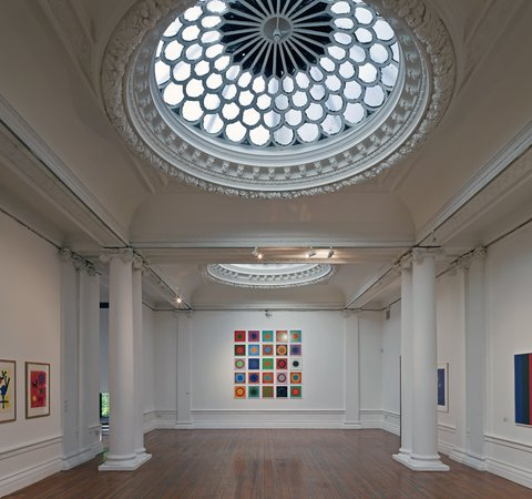 Inside the Hatton Gallery