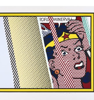 Reflections on Minerva, Roy Lichtenstein
